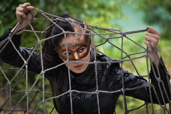 电视剧《面具侠》热拍侯梦莎偶像百变引期待根据小说改编的造型电视剧v面具图片