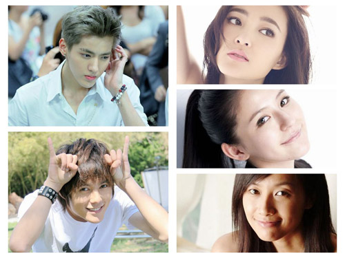 演员组合:吴亦凡、张超、王丽坤、热依扎、徐静蕾