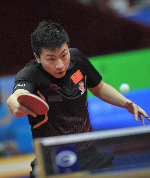反手:2014中国乒乓球公开赛马龙教程甩开图文核雕脸图片