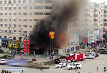 黑龙江安达市快餐店发生爆炸