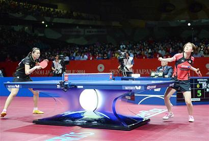 新塑料球登上乒乓舞台