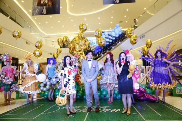 创意气球艺术时装秀梦幻登场图片