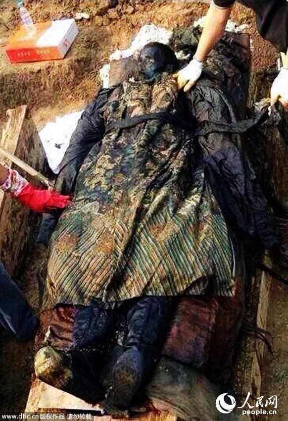 辽宁惊现140岁蛇精_修路挖出千年蛇精图片展示_修路挖出千年蛇精相关图片下载