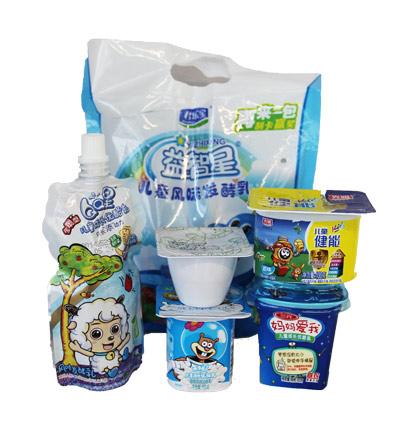 参与评测的6款儿童酸奶