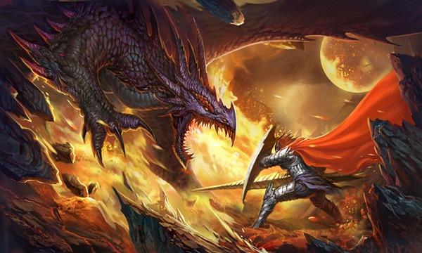 骑士vs魔龙魔幻新游《屠龙者》荣耀开启