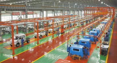 生产实心得_南骏公司车间生产线