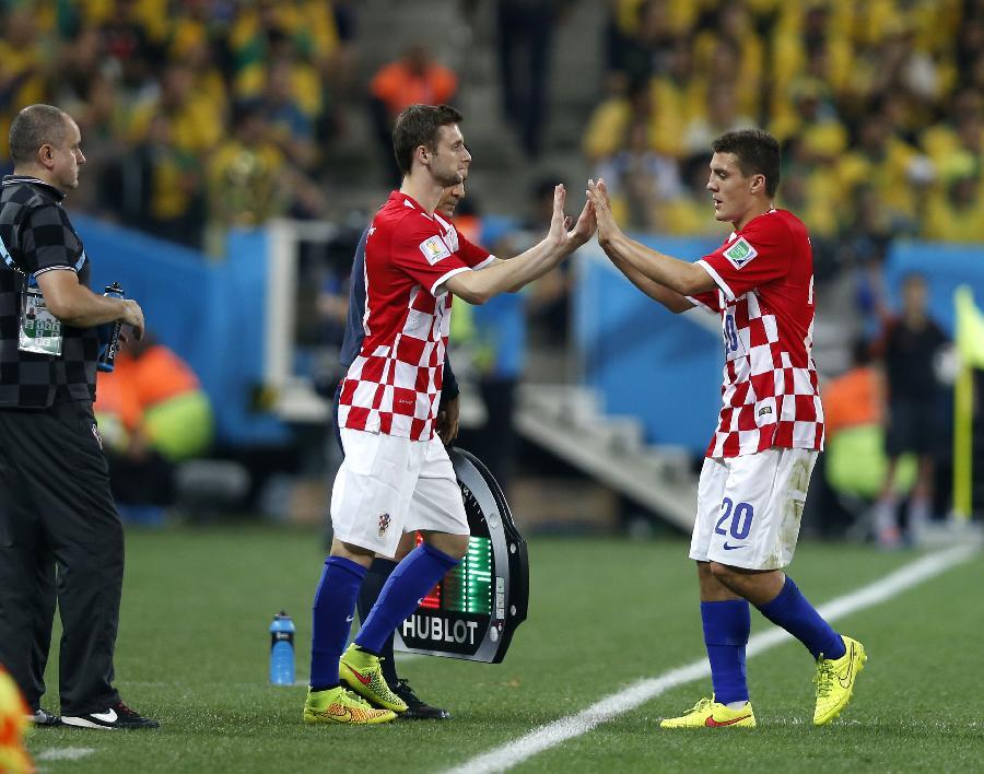(世界杯)足球——揭幕战:克罗地亚用出第一个换人名额