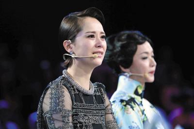 海清在淘汰赛现场崩溃痛哭(资料图)