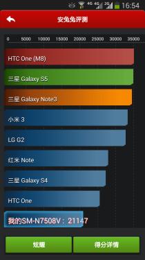 三星GALAXY Note 3 Lite 4G评测
