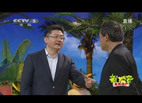 张斌为朱广沪解说道歉:接受观众所有批评和指教