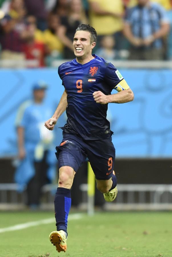 (世界杯·进球时刻)(1)足球--小组赛B组:范佩西扳回比分(图) - 2014最新新闻今日新闻滚动新闻