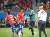 图文:B组赛智利对澳大利亚 值,智利人员调整