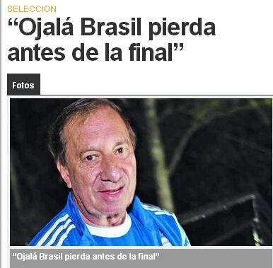 阿根廷助教面对媒体再次大发厥词