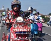 图文:世界VESPA摩托车日 比赛瞬间