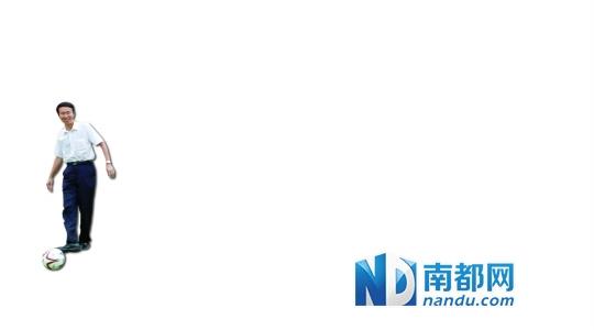 """昨日下午,首届广东省""""省长杯""""青少年足球联赛在佛山世纪莲体育中心举行。南都记者 张明术 摄"""