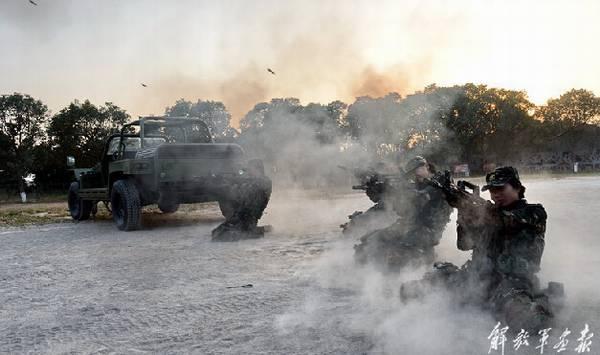 中国陆军31军女子特种兵曝光 飞檐走壁大杀四方