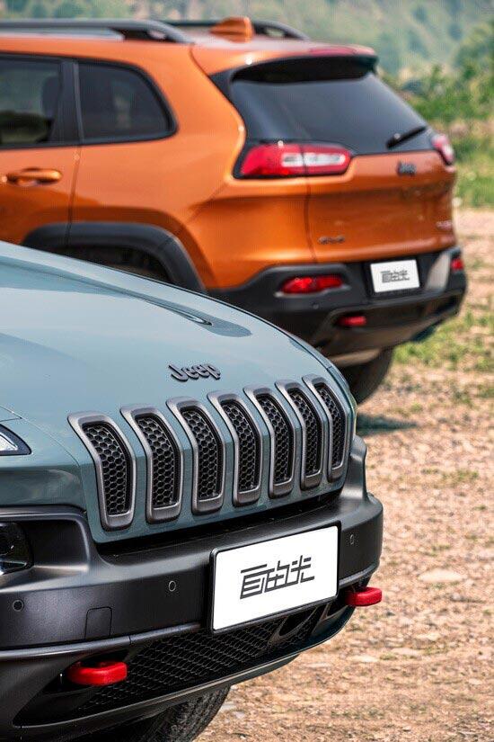 破界自由 深度试驾Jeep自由光高性能版高清图片