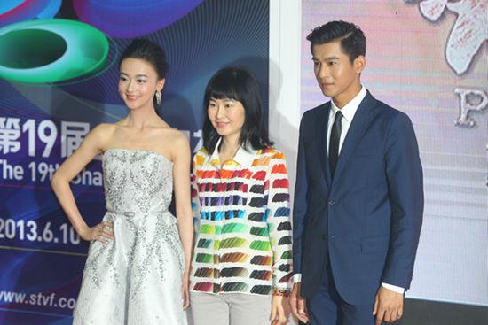 乔振宇亮相上海电视节