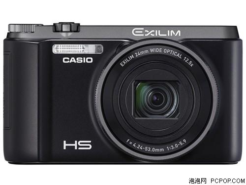 卡西欧ZR1200 数码相机 黑色(1610万像素 3英寸液晶屏 12.5倍光学变焦 24mm广角)数码相机