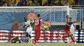 图文:美国vs加纳 布鲁克斯庆祝进球再次领先