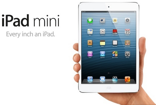 奖品:iPad mini