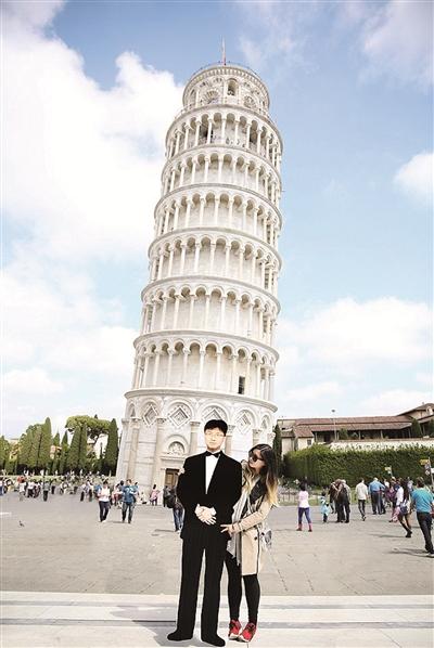 意大利比萨斜塔