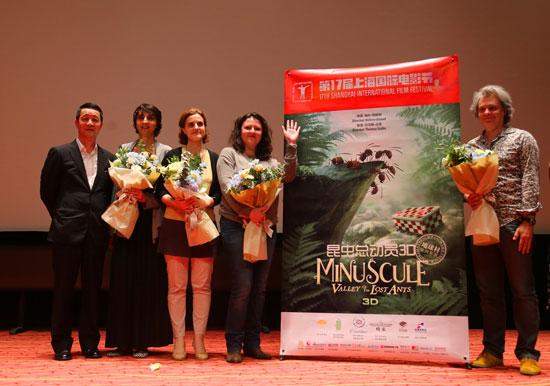 法国电影《昆虫总动员》展映 讲述丛林冒险故事