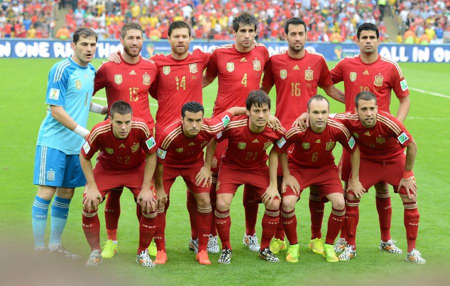 巴西世界杯主力阵容_(世界杯)足球——小组赛B组:西班牙队首发阵容(图)-搜狐滚动