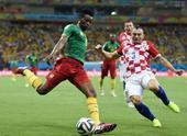图文:喀麦隆vs克罗地亚 穆坎德约起脚射门
