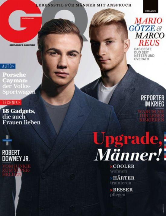 格策的德国《GQ》封面
