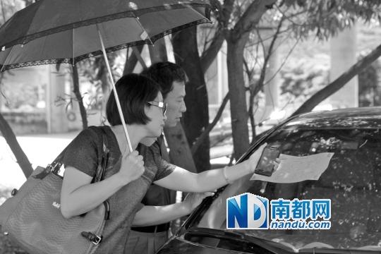 深圳/昨日,深圳首批拍卖公车在西丽老车管所展示,不少市民前来察看...
