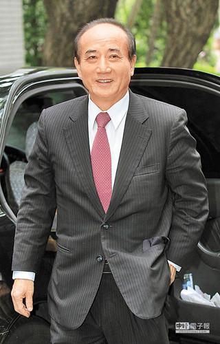 王金平。台媒图
