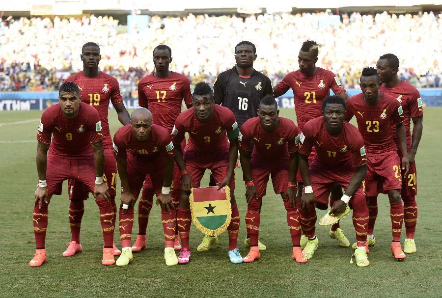 加纳vs美国交战记录_(世界杯)足球——小组赛g组:加纳队首发阵容(图)
