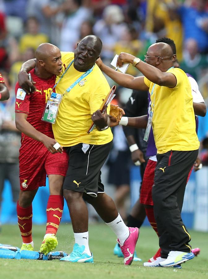 (世界杯·进球时刻)(13)足球——安·阿尤为加纳队扳平比分