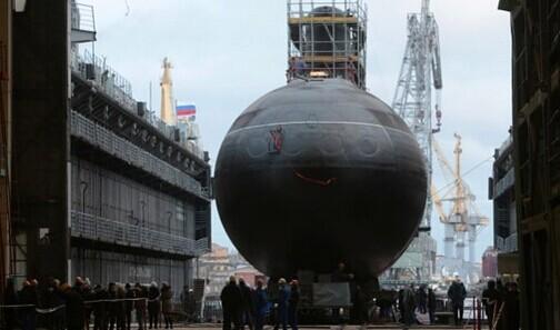 """俄黑海舰队将接收新型潜艇 北约称之为""""黑洞"""""""