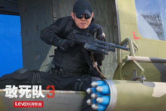 《敢死队3》首次公开李连杰剧照