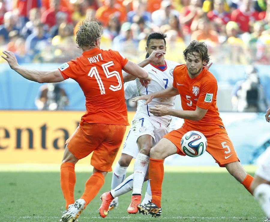 荷兰队内讧_(世界杯)(88)足球——小组赛b组:荷兰队胜智利队(图)