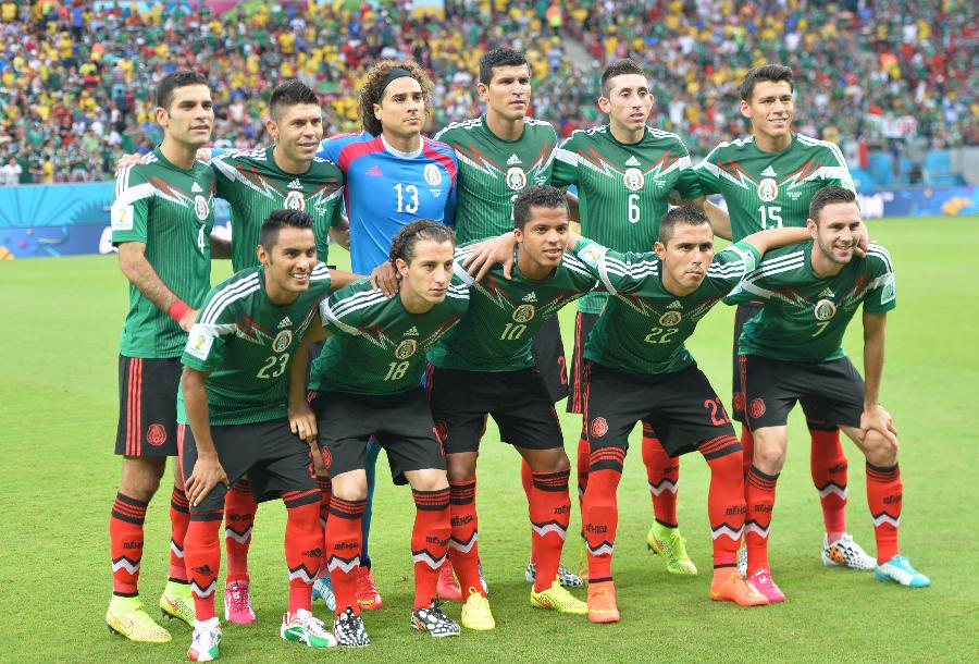 2014年巴西世界杯巴西队阵容_(世界杯)足球——小组赛A组:墨西哥队首发阵容(图)-搜狐滚动