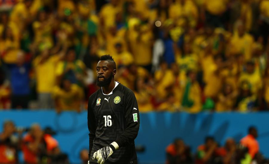 2014年6月23日 (世界杯)(22)足球—小组赛A组:巴西队对阵喀图片