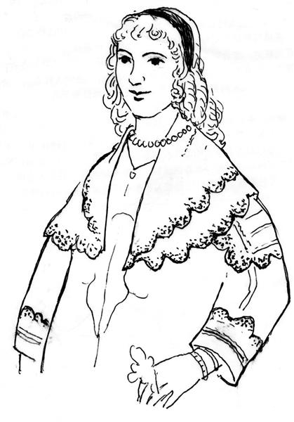 刺绣外套手绘图