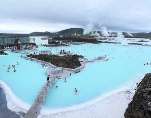 7、冰岛—蓝湖(Blue Lagoon)