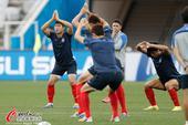 高清图:韩国队备战训练 太极虎欲捍卫亚洲荣耀