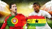 葡萄牙加纳对位:C罗带伤首发 出线看美德脸色
