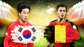 韩国比利时对位:恒大后卫低分 欧洲红魔大轮换