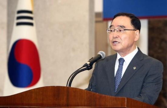 韩国总理郑烘原韩联社图片
