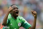进球回放:穆萨禁区推射得手 尼日利亚迅速扳平