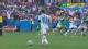 视频-梅西任意球直逼球门 米克尔顶头球险乌龙