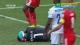 视频-贝纳利奥争顶夺球 倒地头磕队友腿部受伤