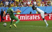 进球回放:阿萨莫阿突破传中 吉安头球攻门得手