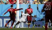 进球回放:C罗破荒6届大赛均进球 葡萄牙队领先